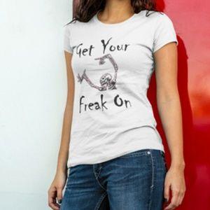 Get Your Freak On Funny Halloween Tshirt